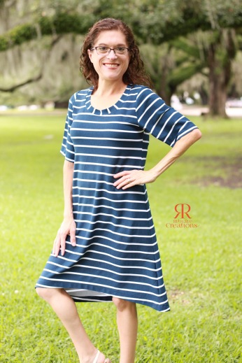 High/Low Knee Length Dress